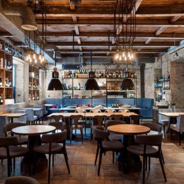 Мебель в стиле лофт для баров, ресторанов и кафе